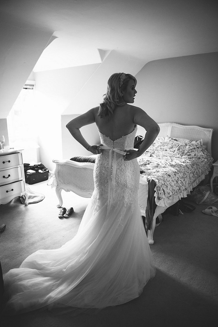 Ronald Joyce Dress Gown Bride Bridal Strapless Tulle Rustic Woodland Floral Wedding http://kellyjphotography.co.uk/