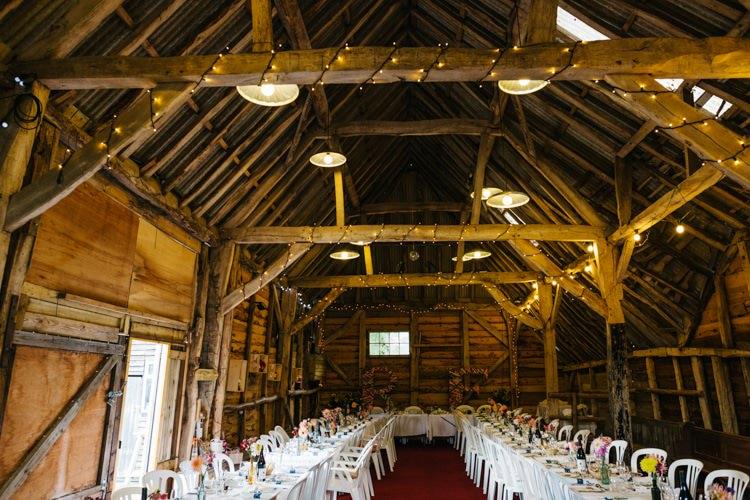 Barn Fairy Lights Vintage Home Made Farm Wedding http://www.honeyandthemoonphotography.co.uk/