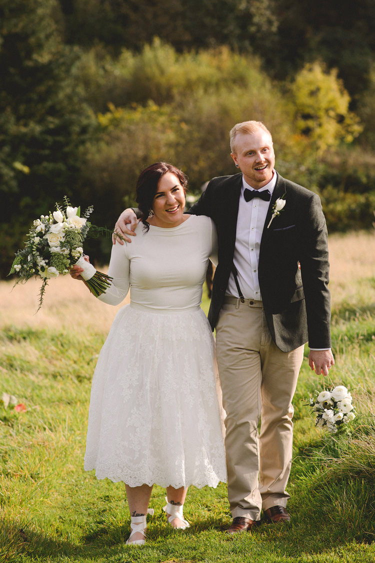 Tulle Skirt Top Bride Bridal Style Intimate Outdoor Farmhouse Wedding http://www.abiriley.co.uk/