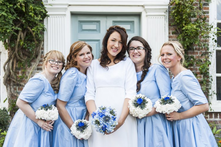 Vintage Cornflower Blue Wedding http://eleanorjaneweddings.co.uk/
