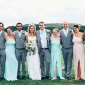 Boho Pastel Beer Festival Feel Wedding