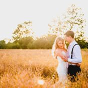 Classic & Rustic Pink Country Barn Wedding