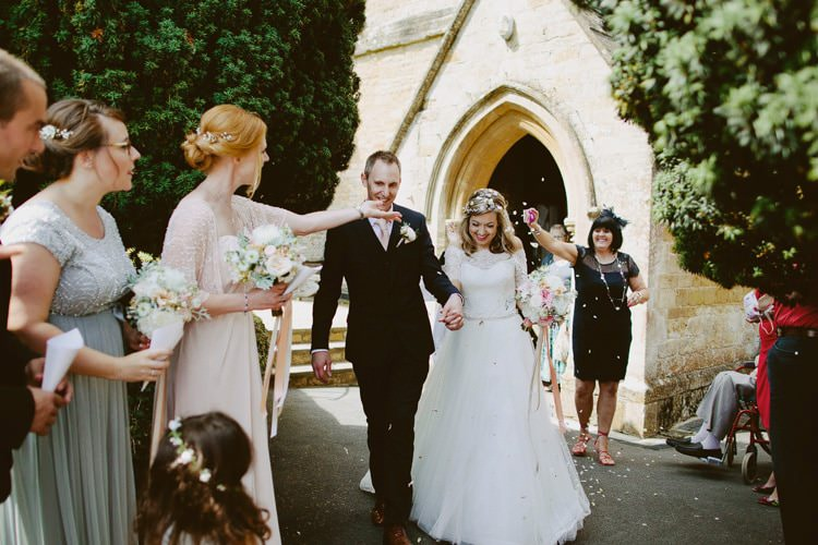 Confetti Throw Romantic Pastel Countryside Wedding http://davidjenkinsphotography.com/