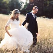 Romantic Pastel Countryside Manor Wedding