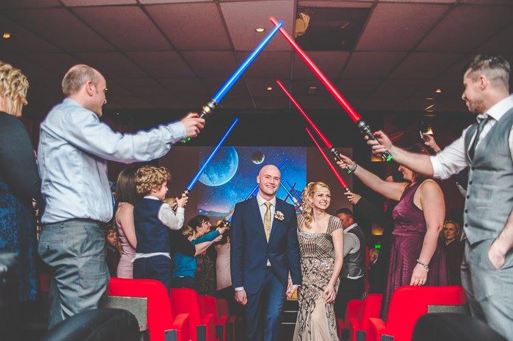 The Electric Cinema Birmingham Star Wars Wedding http://www.robfarrellphotography.uk/