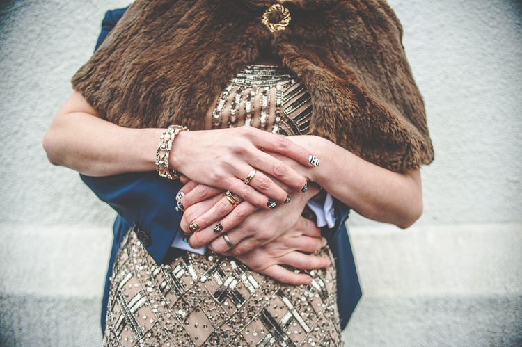 Nail Art Bride Bridal Star Wars Wedding http://www.robfarrellphotography.uk/