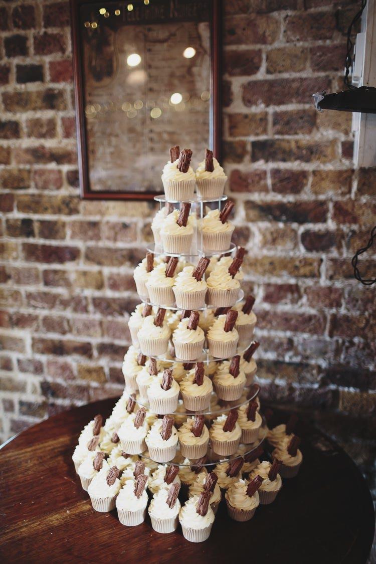 Ice Cream 99s Cupcake Cake Tower Free Spirited Beautiful Beach Wedding https://www.paulfullerkentphotography.com/