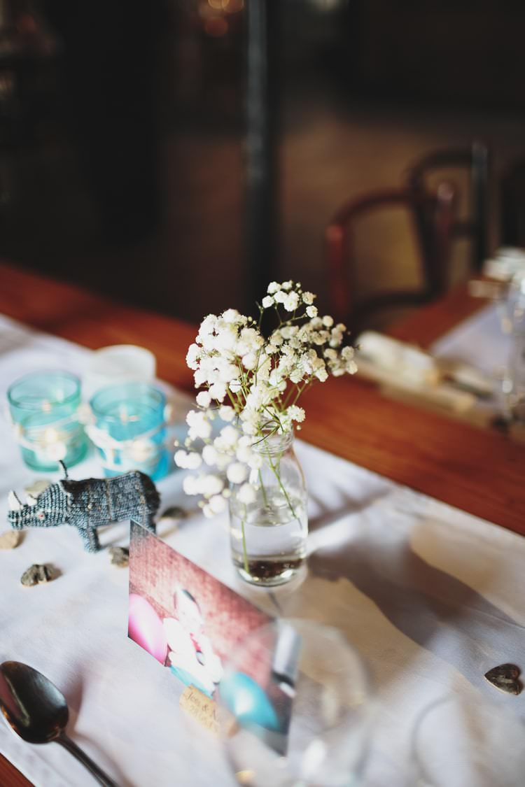 Gyp Gypsophila Baby Breath Flowers Bottles Table Free Spirited Beautiful Beach Wedding https://www.paulfullerkentphotography.com/