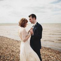 Free Spritied Beautiful Beach Wedding https://www.paulfullerkentphotography.com/