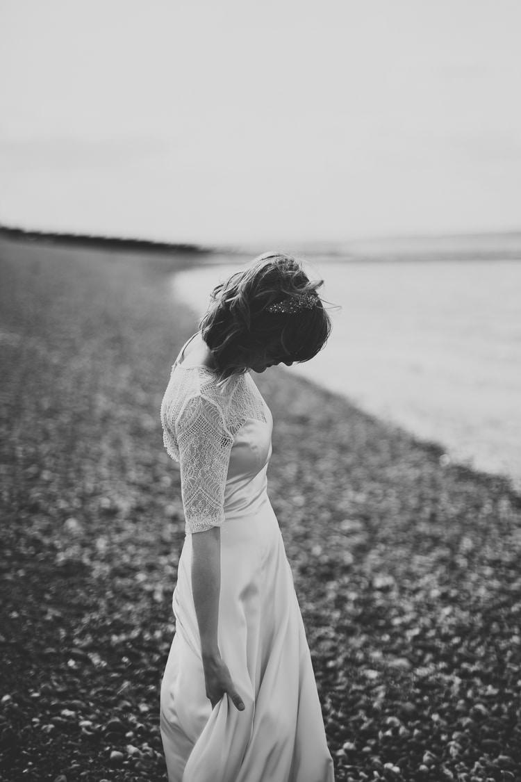 Darcey By Belle Bunty Dress Gown Bride Bridal Sleeves Free Spirited Beautiful Beach Wedding Https