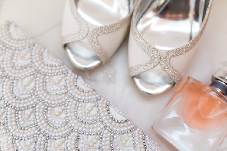 Sparkly Glitter Accessories Bride Bridal Shoes Fresh Pretty Humanist Wedding http://summerlilystudio.com/