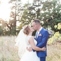 Fresh Pretty Humanist Wedding http://summerlilystudio.com/