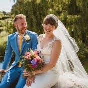 Colourful Crafty Botanical Natural Wedding