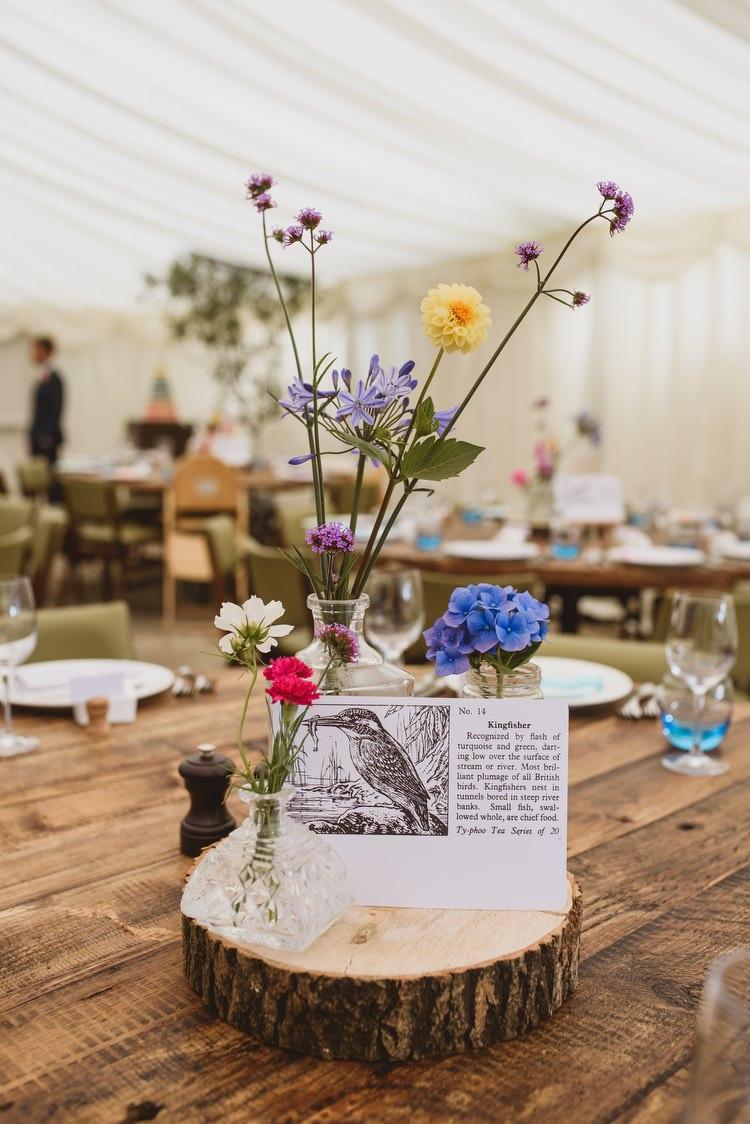 Colourful Crafty Botanical Natural Wedding Whimsical Wonderland