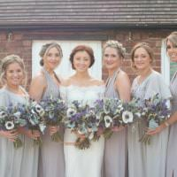 Copper Dusky Lilac Grey Rustic Barn Wedding http://www.kayleighpope.co.uk/
