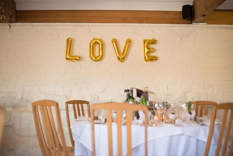 LOVE Balloons Copper Dusky Lilac Grey Rustic Barn Wedding http://www.kayleighpope.co.uk/