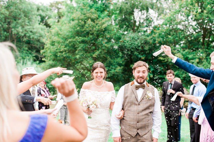 Confetti Throw Multicoloured DIY Rustic Wedding http://vickylamburn.com/