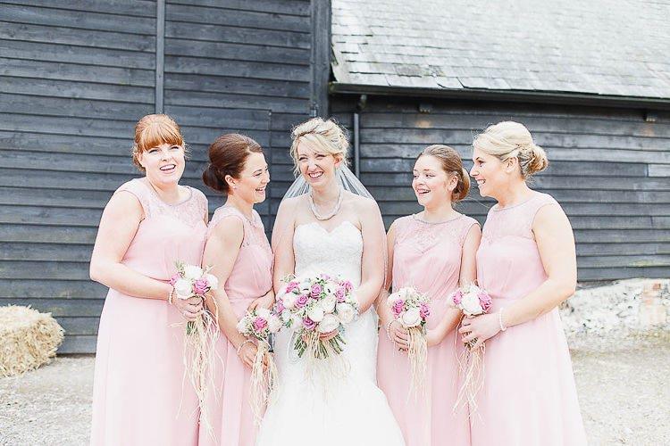 Bridesmaid Dresses Monsoon Outdoorsy Nature Pretty Pink Wedding http://whitestagweddings.com/