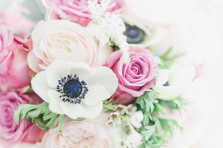 Flowers Bouquet Rose Anemone Brode Bridal Wax Astilbe Outdoorsy Nature Pretty Pink Wedding http://whitestagweddings.com/