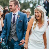 Magical Sequins & Fairy Lights Barn Wedding