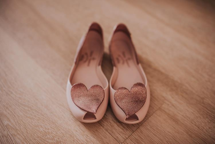 Melissa Heart Shoes Pumps Bride Bridal Whimsical Bright Village Hall Wedding http://www.beckyryanphotography.co.uk/
