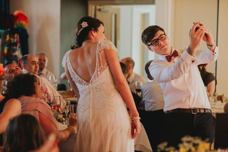 Whimsical Bright Village Hall Wedding http://www.beckyryanphotography.co.uk/