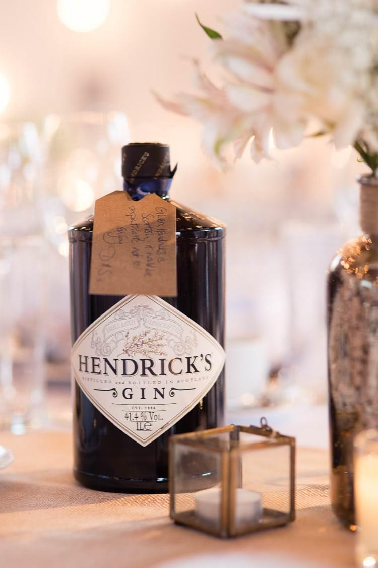 Hendricks Gin Urban London Stylish Navy White Wedding http://karibellamy.com/