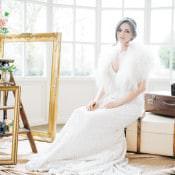 Vintage Glam Rose Gold & Pink Wedding Ideas