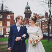 Classic City Chic Winter Wedding