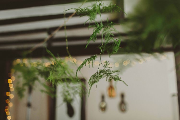 Hanging Fern Decor Whimsical Outdoor Floral Wedding http://www.lukehayden.co.uk/