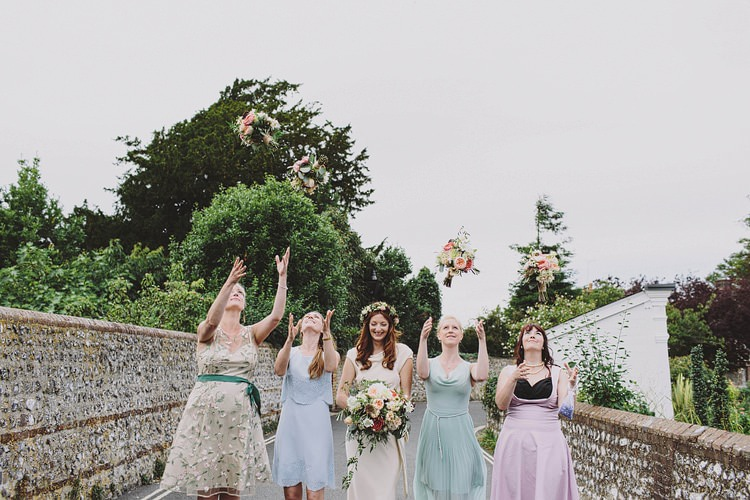 Whimsical Outdoor Floral Wedding http://www.lukehayden.co.uk/