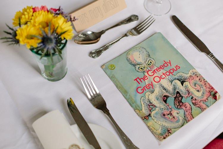 Book Favours Informal Vintage Personal Wedding http://www.marknewtonweddings.co.uk/
