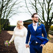 Quirky Colourful Relaxed Fun Barn Wedding
