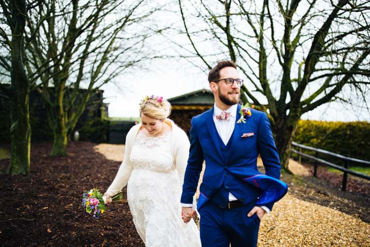 Quirky Colourful Relaxed Fun Barn Wedding http://www.lushimaging.com/