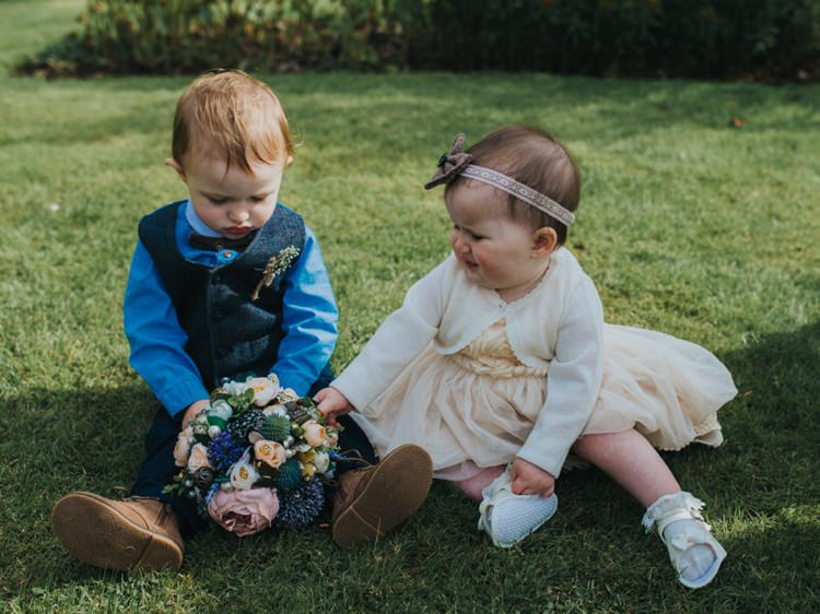Baby Flower Girl Page Boy Creative Relaxed Child Friendly Wedding http://www.brookrosephotography.co.uk/