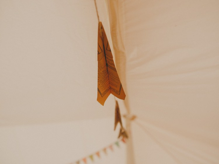 Paper Aeroplane Bunting Creative Relaxed Child Friendly Wedding http://www.brookrosephotography.co.uk/