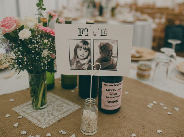 Age Table Names Numbers Photo Creative Relaxed Child Friendly Wedding http://www.brookrosephotography.co.uk/