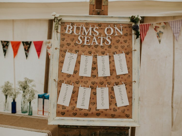 Seating Plan Table Chart Words Quote Sign Creative Relaxed Child Friendly Wedding http://www.brookrosephotography.co.uk/