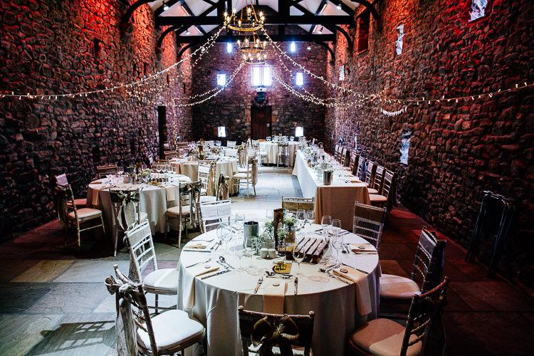 Fairy Lights Magical Dreamy Stylish Barn Wedding http://www.faircloughphotography.co.uk/