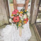 Playful Peach Wedding Ideas