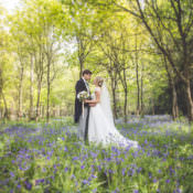 Pretty Pink DIY Bluebell Woods Wedding