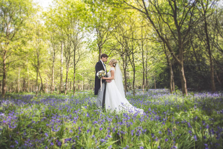 DIY Pretty Pink Bluebell Woods Wedding http://kirstymackenziephotography.co.uk/