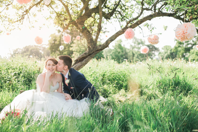 Romantic Coral Summer Wedding http://www.ljm-photography.co.uk/