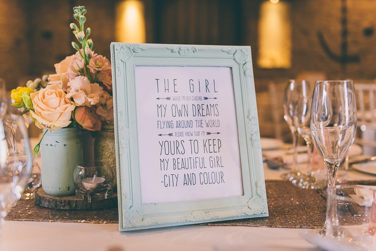 Table Names Songs Eclectic Colour Pop Barn Wedding http://www.robtarren.co.uk/