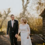 Magical Spring Relaxed Barn Wedding