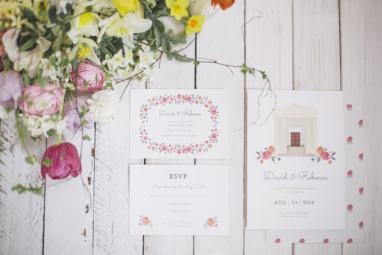 Dearly Beloved Fresh Stylish Design Wedding Stationery Invitations