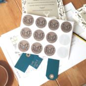 The Bride Diaries. Louise's DIY Wedding Invitations & Cake Plans