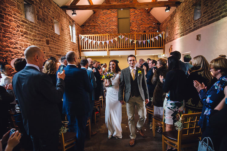 Vintage Sports Rustic Yellow Barn Wedding http://www.redonblonde.com/