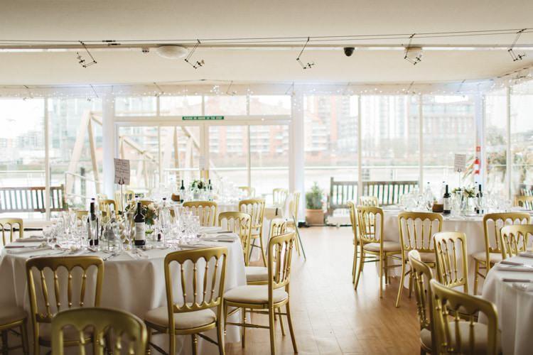 Westminster Boating Base Chic City White Gold Wedding http://www.francessales.co.uk/