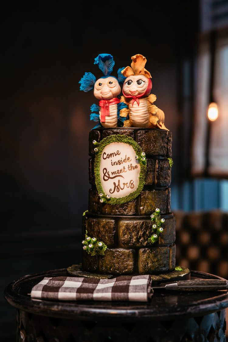 Labyrinth Cake Quirky Intimate Laid Back Wedding http://www.cassandralane.co.uk/